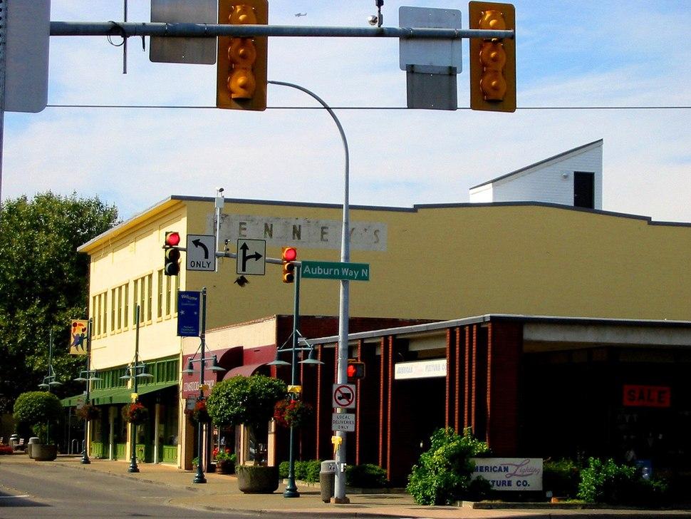 Auburn, Washington; Old JC Penney%27s