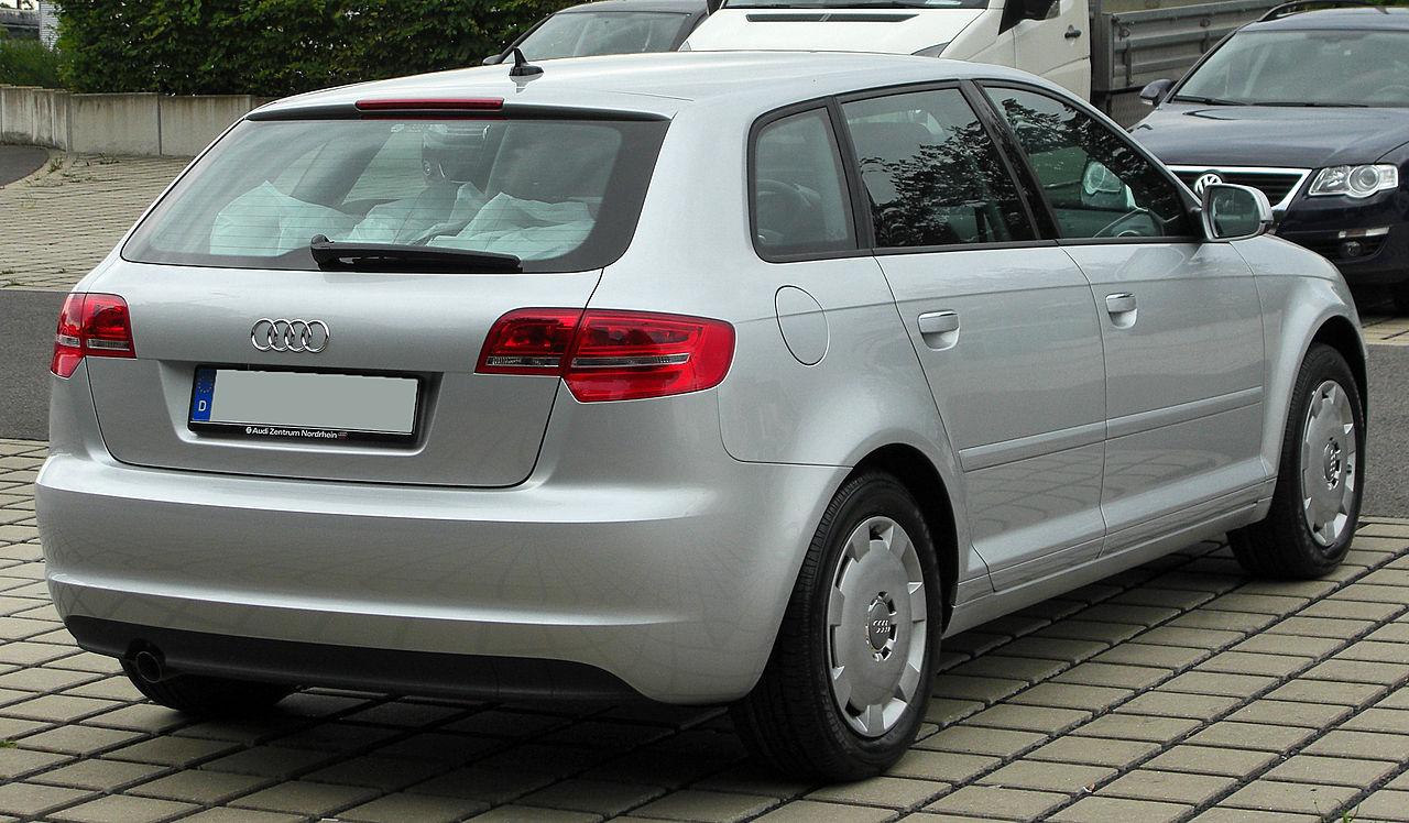 File:Audi A3 Sportback 8PA III. Facelift rear 20100731.jpg ...