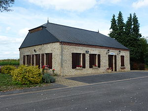 Auge, Ardennes - The Town Hall