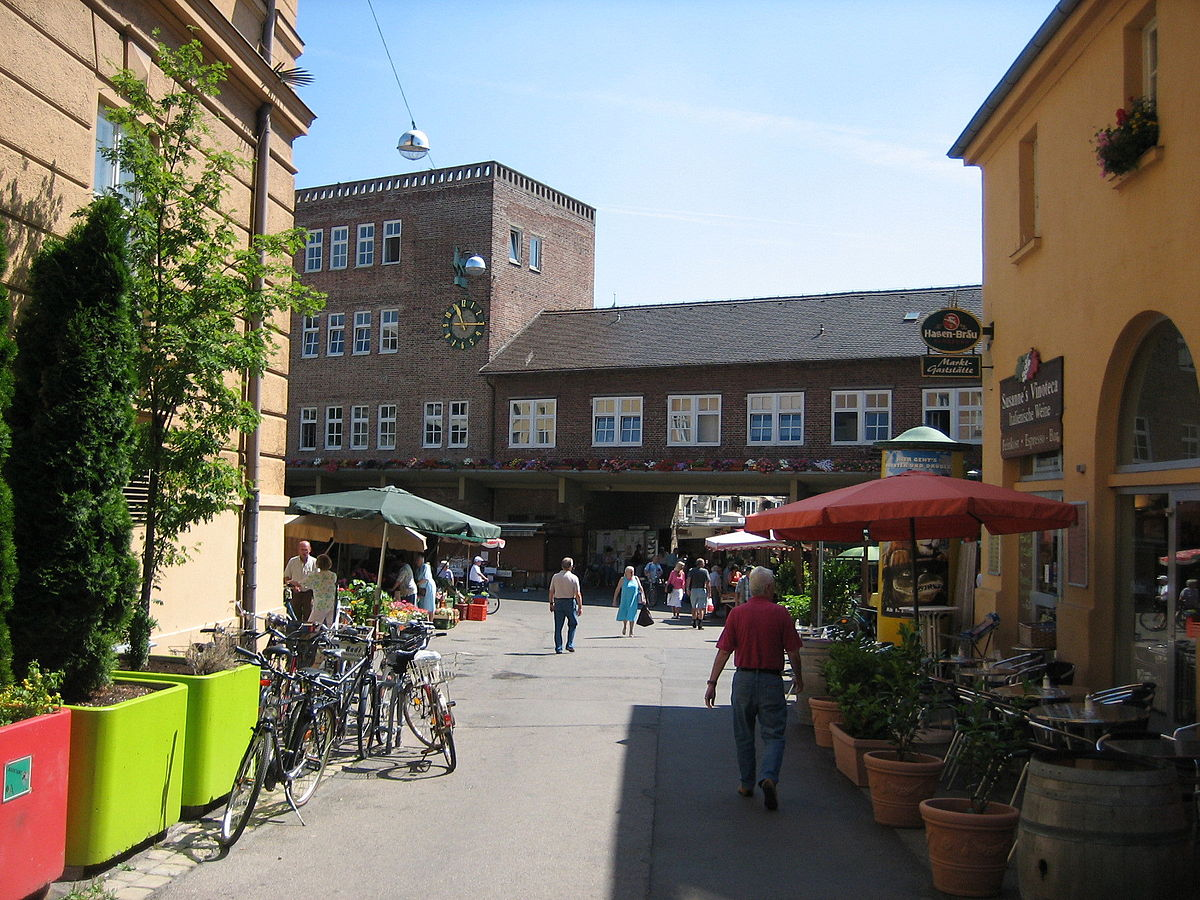 stadtmarkt augsburg wikipedia. Black Bedroom Furniture Sets. Home Design Ideas