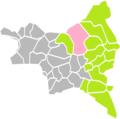 Aulnay-sous-Bois (Seine-Saint-Denis) dans son Arrondissement.png