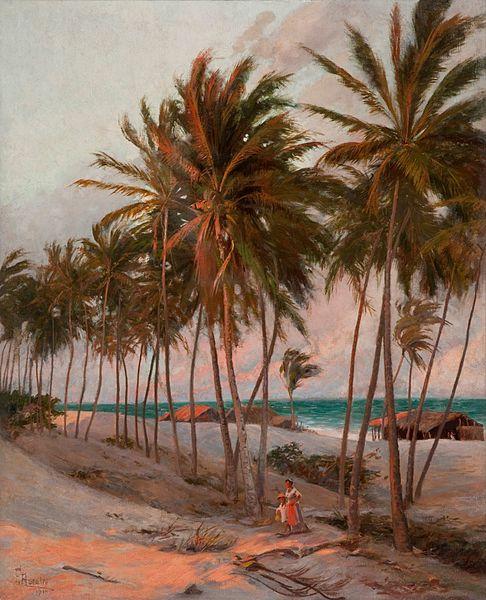 File:Aurélio de Figueiredo - Praia de Fortaleza, 1910.jpg
