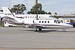 Australian Air Services Pty Ltd (VH-NOU) Cessna 501 Citation I SP taxing at Wagga Wagga Airport.jpg