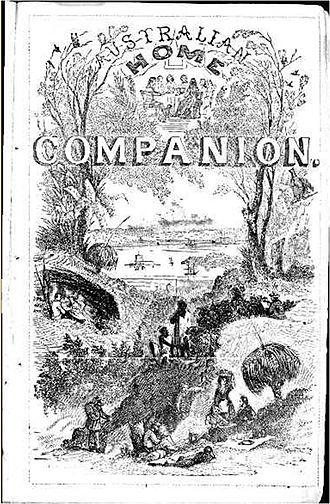 Australian Home Companion and Band of Hope Journal - Image: Australian Home Companion and Band of Hope Journal 1 January 1859