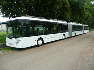 Bi-articulated bus - An AutoTram Extra Grand