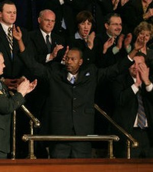 2007 State of the Union Address - Wesley Autrey at the State of the Union Address