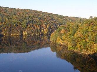 Autumn in New England - Connecticut River, Massachusetts