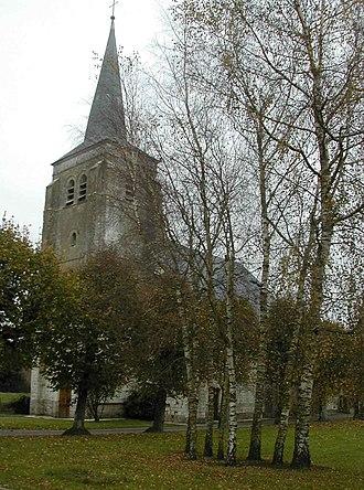 Averdoingt - The church of Averdoingt