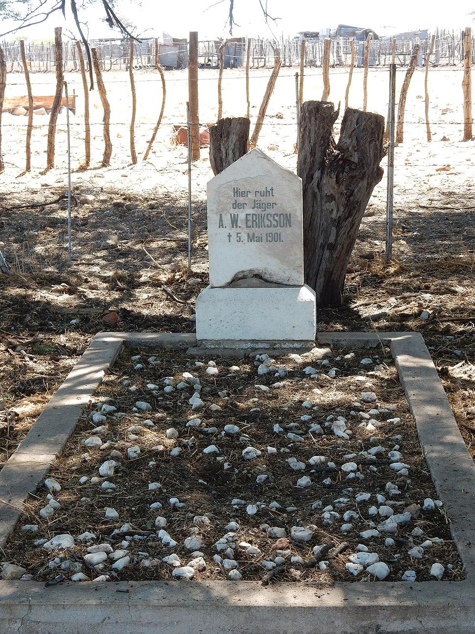 Axel Eriksson%27s grave