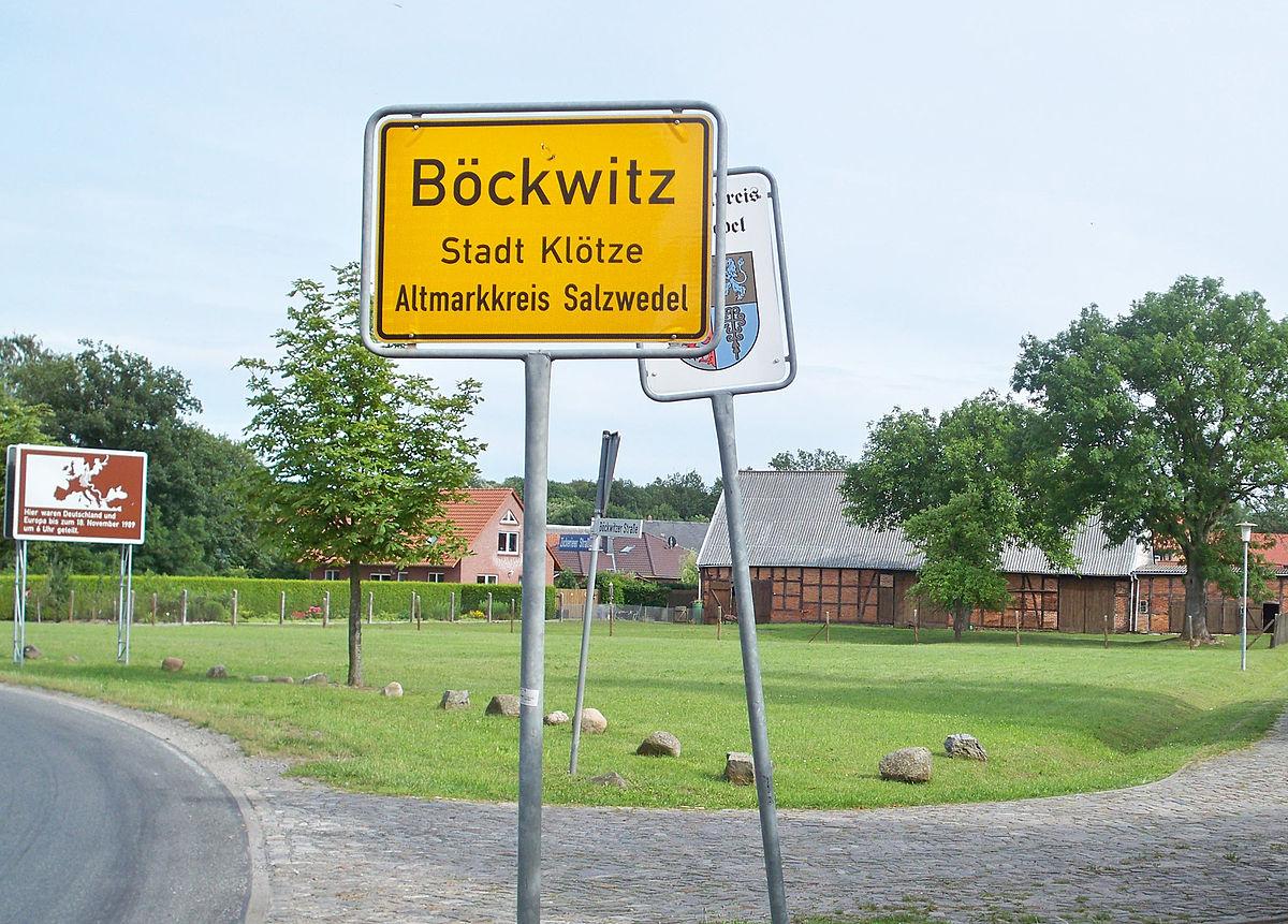 Bildergebnis für innerdeutsche grenze geteilte Böckwitz