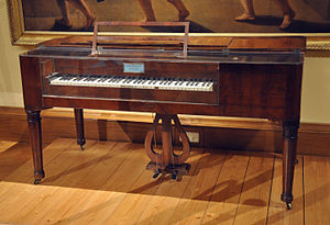 Bösendorfer - The oldest preserved square piano by Bösendorfer, dating to 1828