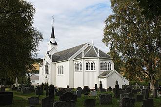 Børsa Church - Image: Børsa church 1