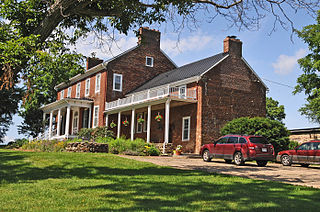 Belle Grove (Delaplane, Virginia) building in Virginia, United States