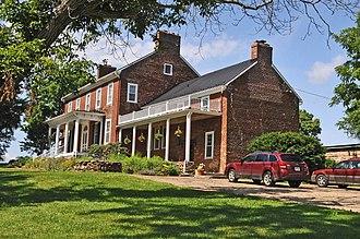 Belle Grove (Delaplane, Virginia) - Image: BELLE GROVE, FAUQUIER COUNTY