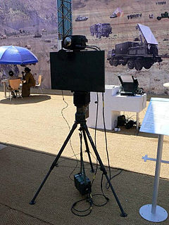BEL Battle Field Surveillance Radar