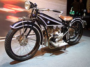 BMW Motorrad - BMW's first motorcycle, the R32