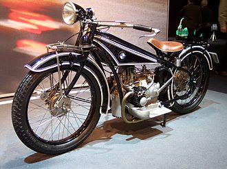 History of BMW motorcycles - BMW's first motorcycle, the R32
