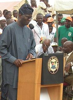 Babatunde Fashola Nigerian politician