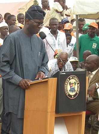 Babatunde Fashola - Image: Babatunde Fashola (June 10, 2010)