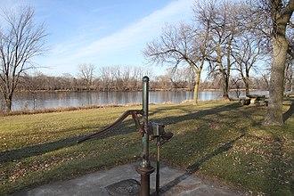 Babcock Memorial Park - Image: Babcock Park Pump