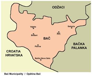 Bođani - Image: Bac mun