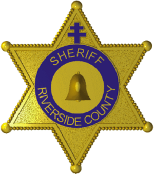 Riverside County Sheriff's Department - Image: Badge of the Riverside County Sheriff's Department