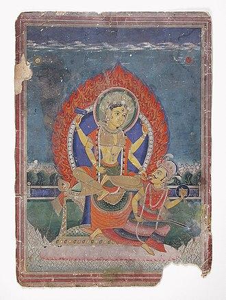 Bagalamukhi - Image: Bagalamukhi Matrika