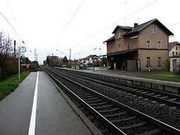 Bahnhof Langweid