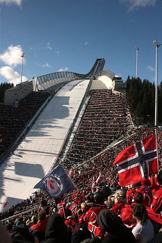 Oslo bid for the 2018 Winter Olympics - Holmenkollbakken was proposed to be used for ski jumping.
