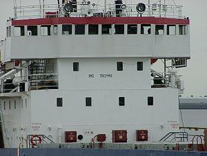 IMO number : 7612448 Name of ship :BALTIYSKIY-...