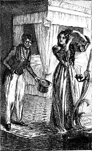 Le Contrat de mariage - An 1899 illustration by W. Boucher for Le Contrat de mariage