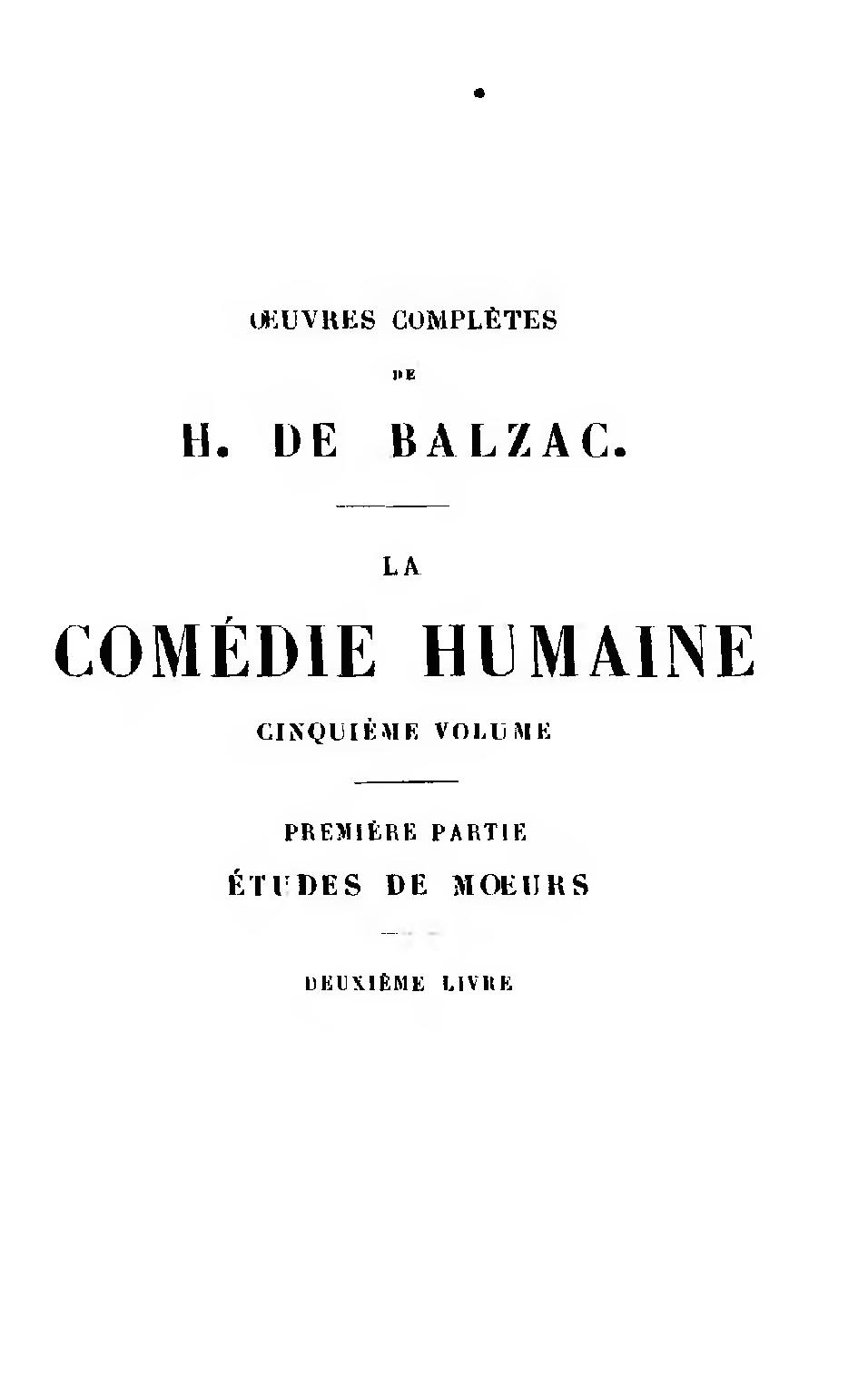 File Balzac œuvres Completes Tome 5 1855 Djvu
