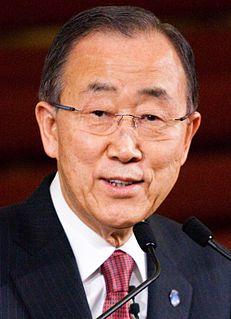 Ban Ki-moon 8th Secretary-General of the United Nations