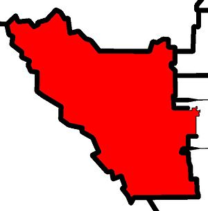 Banff-Cochrane - Image: Banff Cochrane electoral district 2010