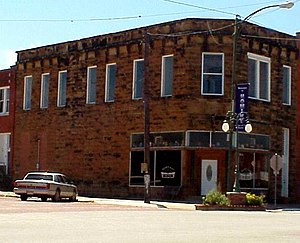 National Register of Historic Places listings in Osage County, Oklahoma - Image: Bankof Hominy