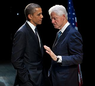 New Democrats centrist faction within the United States Democratic Party, including Bill Clinton and Barack Obama