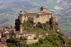 The Castle of Bardi