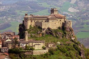 Landi family - The castle of the Landi at Bardi