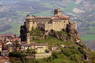 Bardi, Emilia-Romagna - The Castle of Bardi