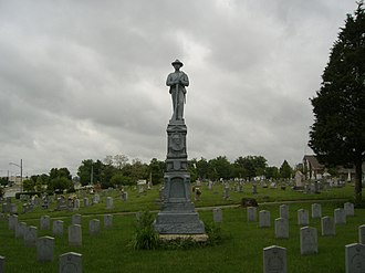 Confederate Monument of Bardstown - Image: Bardstown Confederate Memorial 3