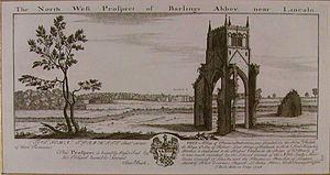 Barlings - Barlings Abbey 1726