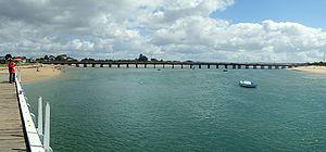Barwon Heads, Victoria - The old Barwon Heads Bridge
