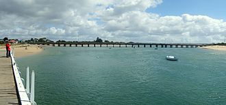 Barwon Heads, Victoria - The old Barwon Heads Bridge