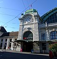 Basel SBB clock and entrance.jpg