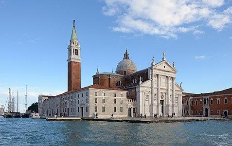 The basilica of San Giorgio Maggiore in Venice.