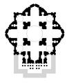 Basilica di San Pietro - Schema progetto di Michelangelo - Disegno di Etienne -Li-.PNG
