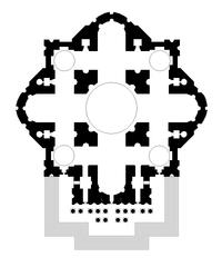 Proyecto de Miguel Ángel. Basílica de San Pedro Vaticano