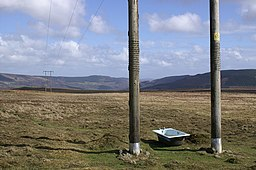 Bath under a Power Line - geograph.org.uk - 146307.jpg