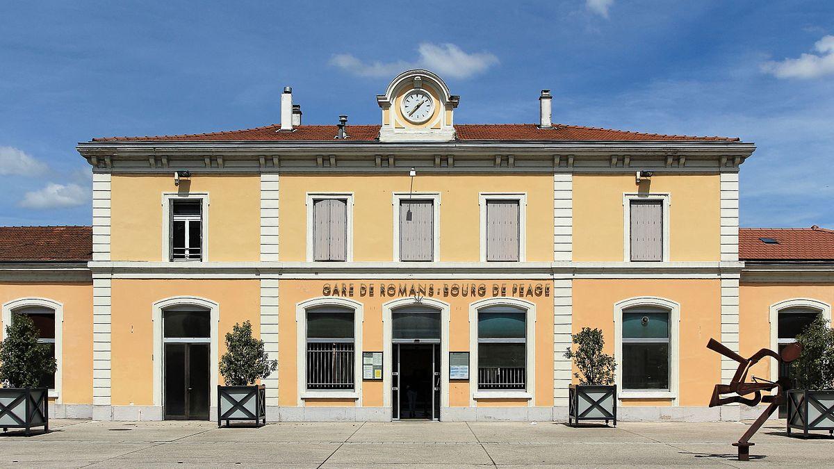 Gare de romans bourg de p age wikip dia for Garage bourg de peage