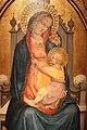 Battista di biagio sanguigni (maestro del 1419), madonna col bambino in trono, 1419, 02.jpg